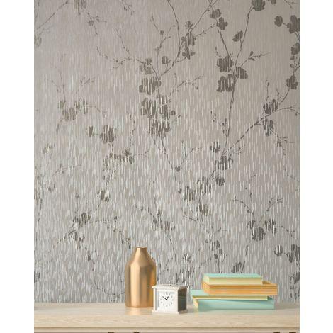 Graham & Brown Wallpaper Theia Blossom Cream 106602