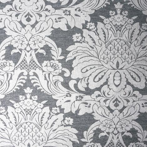 Graham & Brown Wallpaper Vogue Charcoal 106675