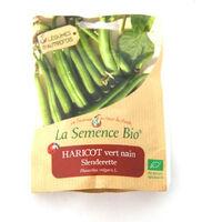Graines bio - Haricot Vert Nain Slenderette 75gn -La Semence Bio
