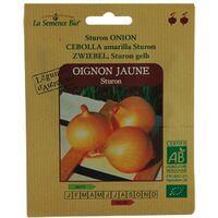 GRAINES BIO -OIGNON JAUNE STURON