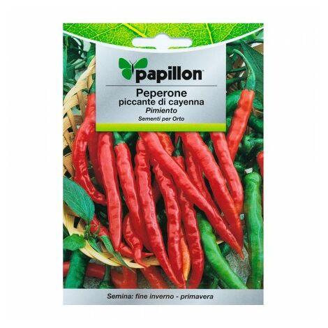 Graines poivre cayenne Épicé (1,5 grammes) graines légumes, horticulture, horticola, graines verger.