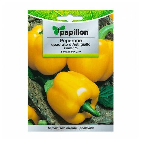 Graines poivron jaune carré (1,5 grammes) graines légumes, horticulture, horticola, graines verger.