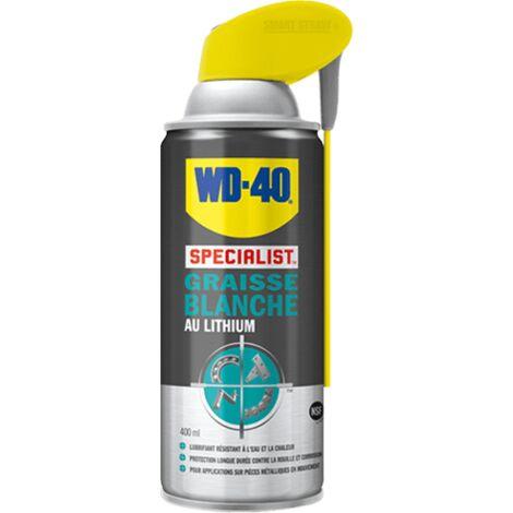 Graisse blanche au lithium wd40 - Conditionnement : 400ml - WD40