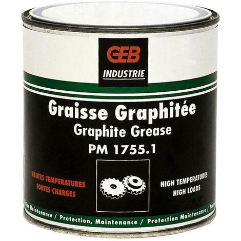 Graisse graphitée spéciale haute température - Boite 350g