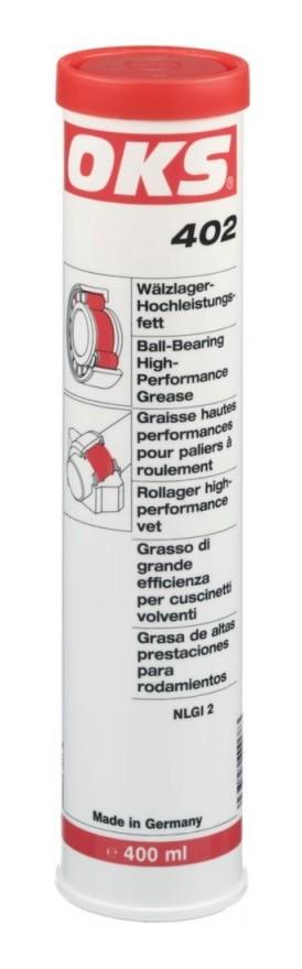 Graisse haute performance pour paliers et roulements 402 400 ml (Par 10) - OKS