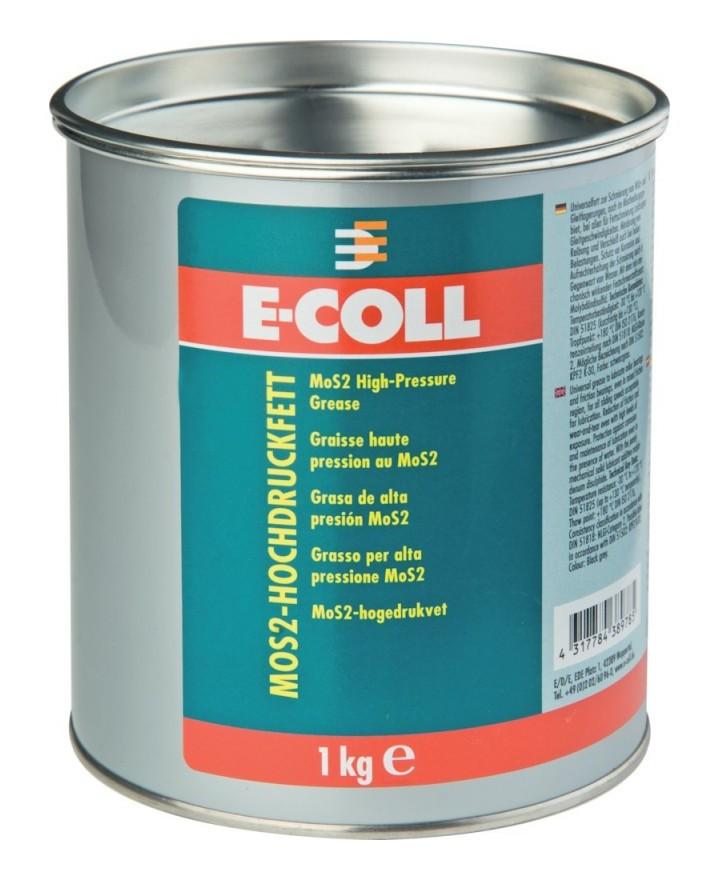 Graisse haute pression MoS2 1kg E-COLL (Par 10)