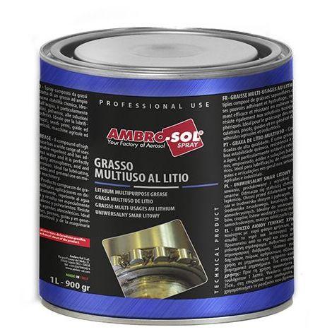 Graisse multifonction au lithium 900 ml (1 Kg) - G010 - Ambro-sol
