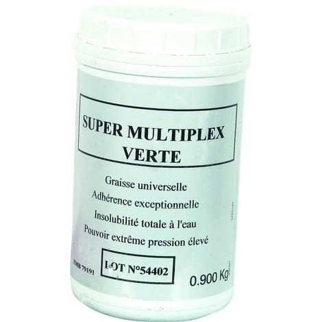 Graisse multiplex verte pot de 1 LITRE SODILUB - S10302