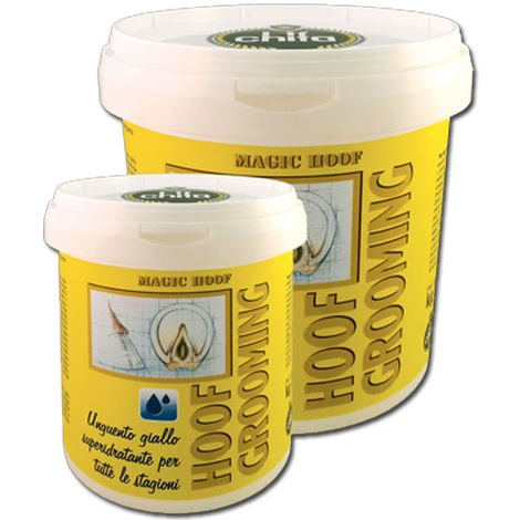 """main image of """"Hoof Grooming pommade jaune pour le sabot avec action super-hydratante Chifa"""""""