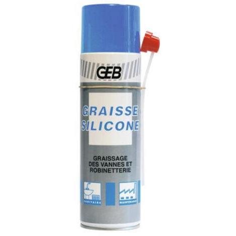 Graisse silicone GEB aérosol 500ml