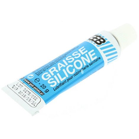 """main image of """"Graisse silicone GEB translucide - étui tube 20g"""""""