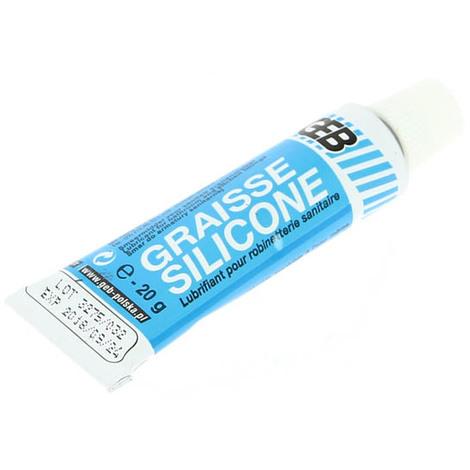 Graisse silicone GEB translucide - étui tube 20g