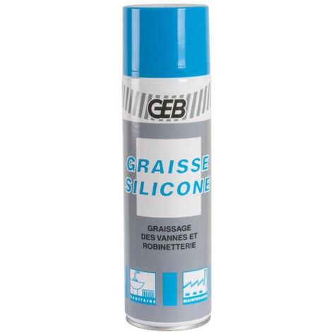 Graisse silicone translucide - aérosol 650 / 500ml