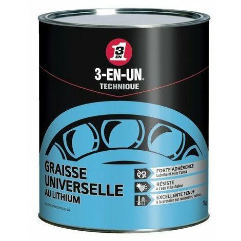 Graisse universel au lithium 3-EN-UN