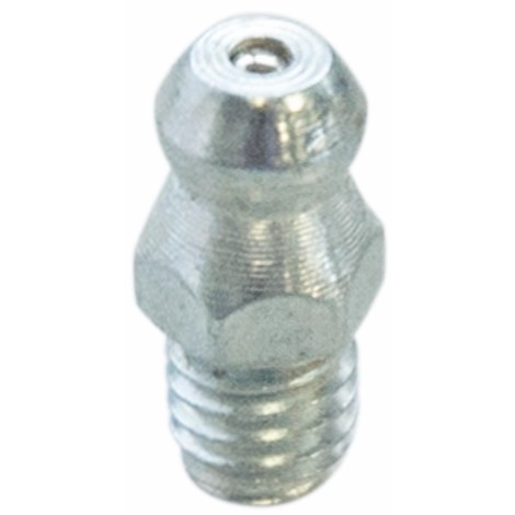 Graisseur droit M10x1,5 acier zingué (quantité mini de 10 pièces)