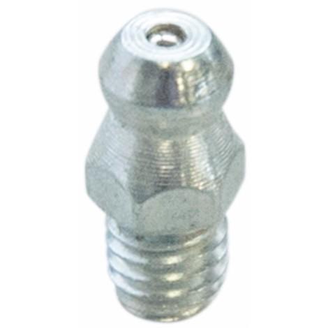 Graisseur droit M6x1 acier zingué (quantité mini de 10)