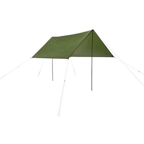 Grand Canyon Shelter ZUNI 3, Capulet Olive, Sonnensegel, olivgrün, Quadratische Form