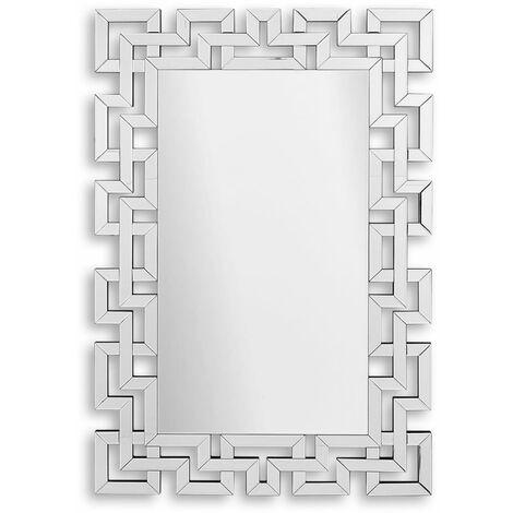 Grand miroir décoratif mural moderne sur cm H120xL80xS1 Artedalmondo HM013A12080
