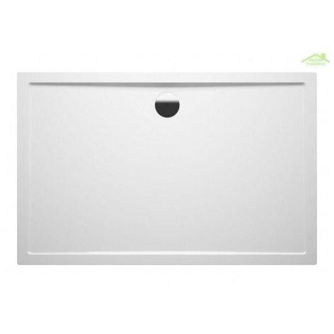 Grand receveur de douche acrylique rectangulaire RIHO ZURICH 242 130x80x4,5 cm - Sans siphon