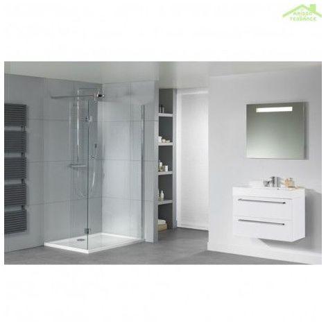 Grand receveur de douche acrylique rectangulaire RIHO ZURICH 264 150x90x4,5cm