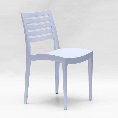 Grand Soleil Polypropylene Dining Chair Garden Outdoors Stackable Comfortable FIRENZE