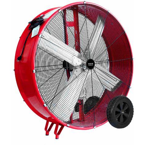 Grand ventilateur brasseur d'air mobile Ø 1200 mm - 735 W MW-Tools MV1200LB