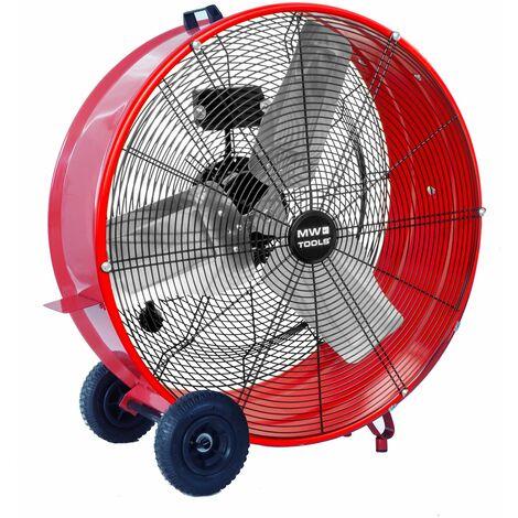 Grand ventilateur brasseur d'air mobile ø 900 mm - 380 W MW-Tools MV900L