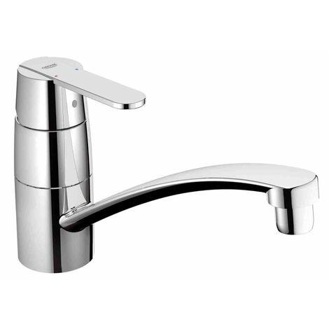 Miscelatore monocomando Grohe Eurostyle per doccia, maniglia a leva chiusa, colorazione: Luna Bianco 23722LS3