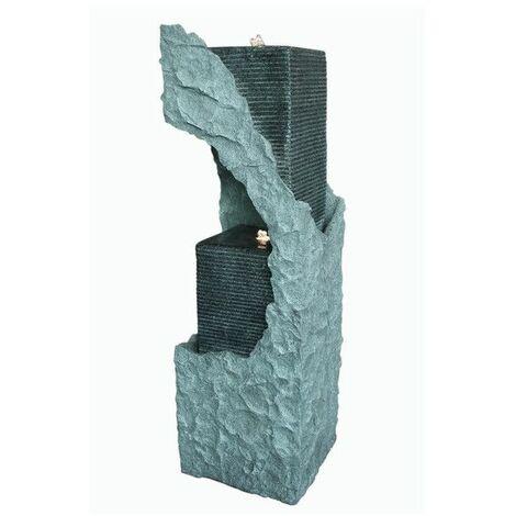 Grande fontaine XL B-SIDE - L 29 x l 29 x H 90 cm - Polyrésine - Livraison gratuite