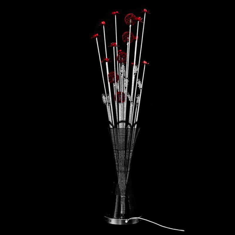 Grande Marta Vase Aluminium Led Lampe Fleurs lKJTF1c