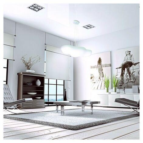 Grande Suspension luminaire Nuage Eol - Blanc