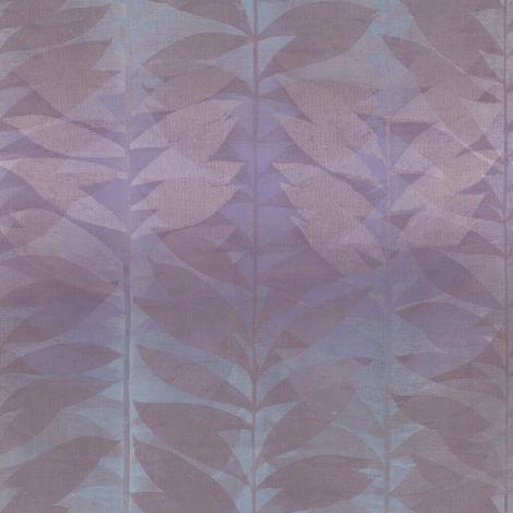 Grandeco Wallpaper Botanical Purple BA2109