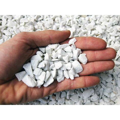 Graniglia di marmo bianco 10/20 mm