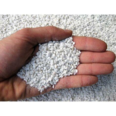 Graniglia di marmo bianco 1,7/3 mm