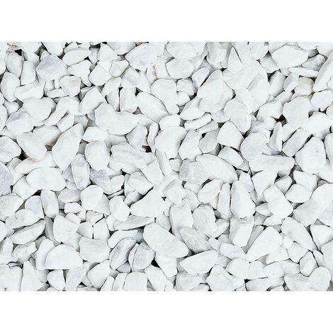 Graniglia, granulato per giardino, Bianco Carrara 1,5-3 mm (600 kg)