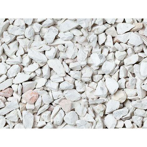 Graniglia, granulato per giardino, Bianco Verona 8-12 mm (600 kg)