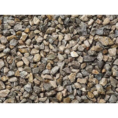 Graniglia, granulato per giardino, Grigio Cielo 0-1 mm (1200 kg)