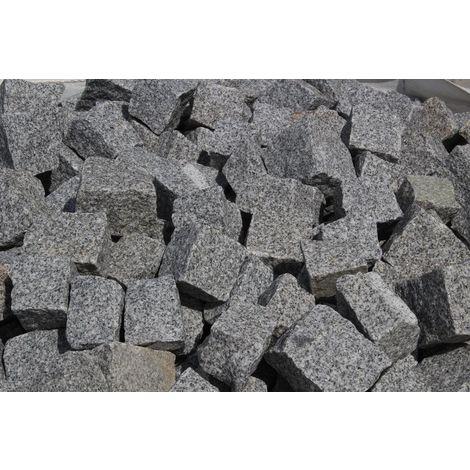 Granit Mosaik Pflaster 5x5x5cm