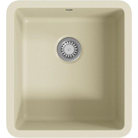 Granite Kitchen Sink Single Basin Beige