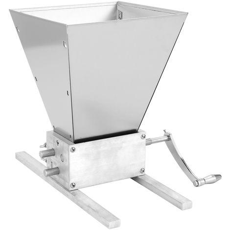 Granos Grinder procesadores de alimentos, Manual de malta de maiz grano Trituradora de 3 Rodillos