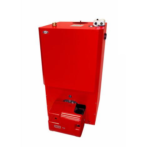 Grant Vortex Oil Boiler House Erp, 21 kW-26 kW With 1.2 meter HighLevel Flue Kit