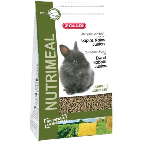 Granulés complets pour lapins nains junior Nutrimeal 2.5 kg