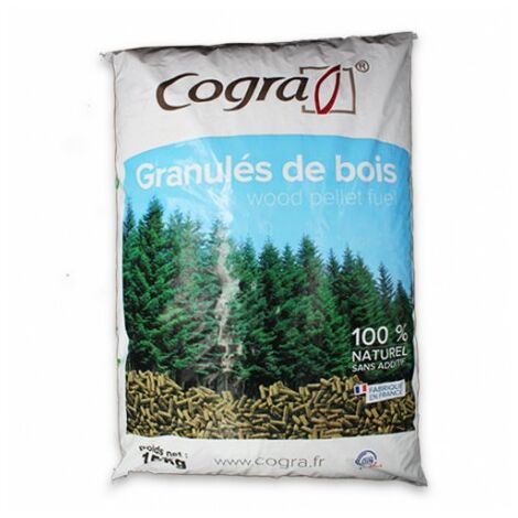 15787bdd3c374 Granulés de Bois / Pellets certifiés DIN PLUS - 1 Palette de 70 sacs de 15kg  soit 1,05 tonne