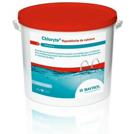 Granulés de chlore non stabilisé Bayrol Chloryte - 10 kg