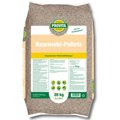 Granulés de farine capillaire BECKMANN PROFI Provita® 20 kg d'engrais azoté bio