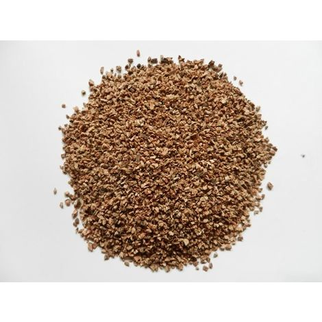 Granulés de liège en vrac naturel isolant - Sac de 100L - 0,5 à 2mm | sac(s) de 0.1 m3 - 0 - Sac de 100L
