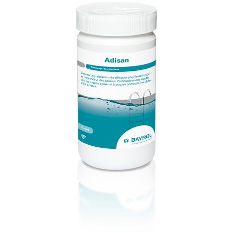 Granulés dégraissants Adisan pour nettoyage des bassins - BAYROL
