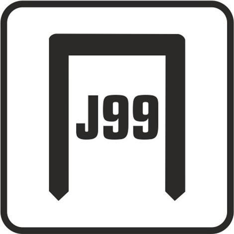 Grapa Atadora J99 Caja 10000 Ud - CLAVEX - 6205