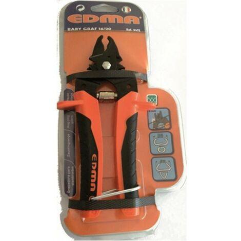 Grapadora cercados man 16/20mm s/carg babycraft tmg