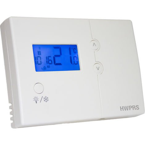 Grasslin Programmable Hard Wired Room Thermostat (HWPRS)